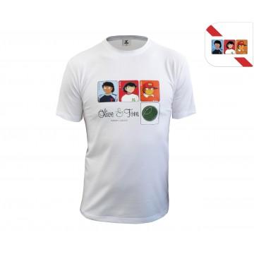 Tee Shirt Heros Olive & Tom